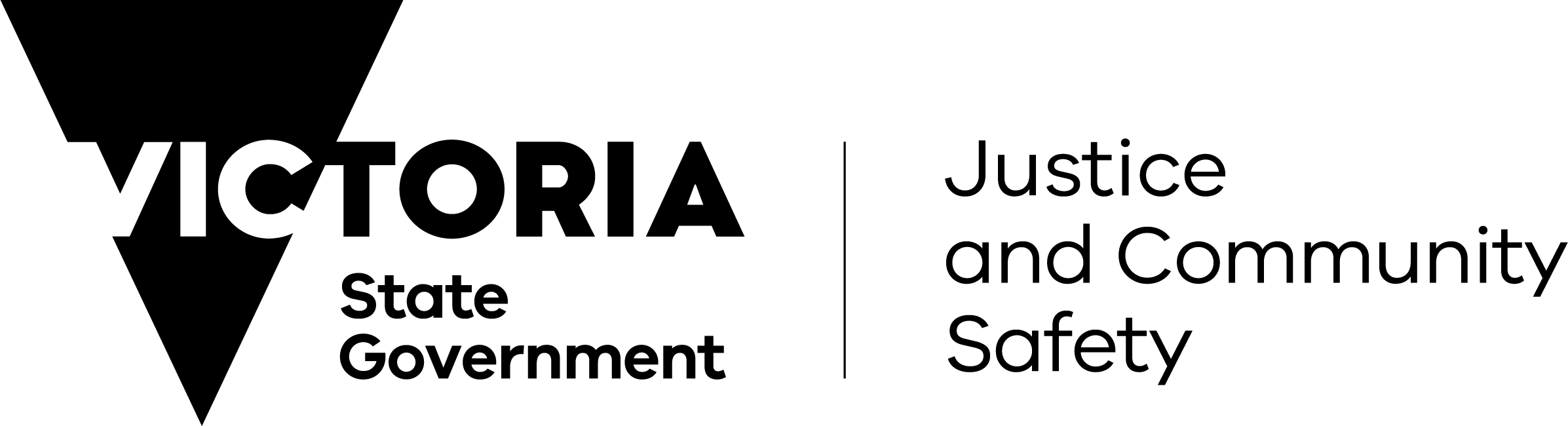 Department of Justice and Community Safety Victoria - logo